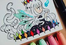 색칠 손그림