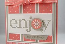 Cards & Paper Creations / Card Making and other Paper Projects. / by Camile Mick