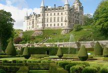 Hrady, zámky, paláce Británia