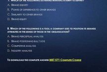 MKT 571 Week 2 Quiz