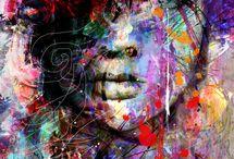 Pinturas y fotografía artística