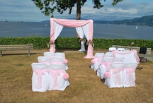 Chuppah / Chuppah for Weddings and Wedding Ceremonies in Vancouver, British Columbia. www.rosechairdecor.com