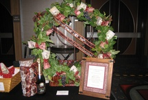MOMS Club - Founder's Day / Some of the past baskets, displays from our various Founder's Day Luncheons