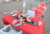 Romantic Dinner on the Beach in Antalya / Organization of your unforgettable romantic dinner on the beach