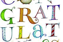 felicitaties en kaarten