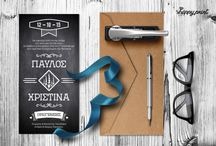 wed_invi_6 / Create your own custom wedding invitation with this elegant template featuring. All you have to do, is change the existing text in Greek or in English with your own details!
