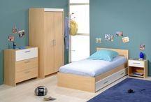 Déco Chambre enfant / Découvrez de belles chambres enfants sur wwww.capitaine-matelas.com.  Le Capitaine vous propose des chambres complètes pour tous les goûts : fille, garçon ou mixte #ChambreEnfant