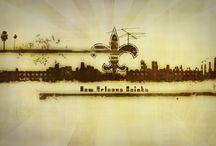 New Orleans & Saints / Cool NOLA & Saints Stuff / by Justin Hawks