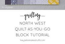 quilting - quilt as you go