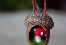 Acorn, Pine Cone & Nature Crafts