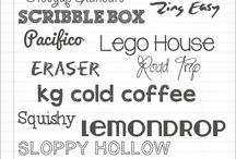 Tipografias / Fonts