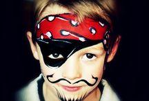 Face painting / Face painting tips and face paint ideas