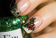 Christmas mood for nails