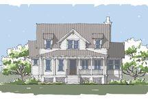 Winyah Bay Home Plan / Coastal Cottage Home Plan