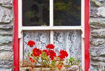 Window for decoupage