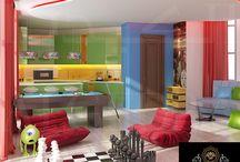 Playing Room Interior Design