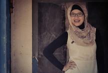 Hijab on Street