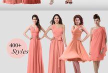 Bridesmaid dress colors