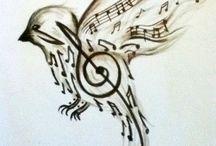 pajaro musical