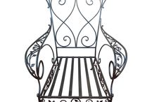 Vintage Florentine Wrought Iron