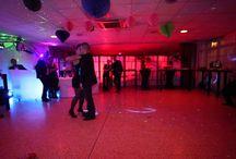 Démonstration d'ouverture de bal pour futurs mariés