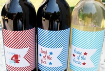 4th of July! / How to throw a 4th of July holiday, Independence Day party or where to go in wine country!
