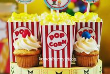 circus/carnival party ideas / Circus and carnival birthday party ideas.
