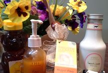 Body Treatments / Back facials to make your skin glow and get you beach ready!  Products are 15% off day of service!