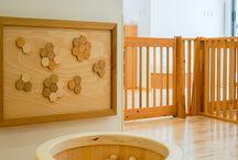 「木育」をテーマとしているH保育園 Nursery / 「木育」をテーマとしている保育園