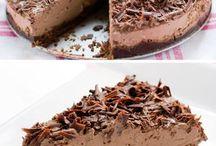 Tarta de mouse de chocolate vegana