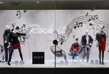KONEN Rock it your Style - Herbst/Winter 2014 / Rock it your Style: Das musikalisch-wilde Motto für die Gestaltung der KONEN Schaufenster im Herbst/Winter 2014