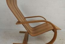 Elegant Bentwood Lounge Chair