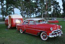 Oldtimer campingvogne / En samling af imponerende campingvogne