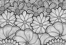 Zentagle/ Mandala/ Doodles