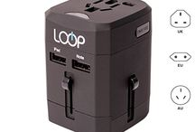 Travel Adapters From LOOP Electronics