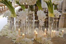 All White Wedding / All white wedding decor