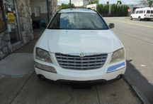 Used 2004 Chrysler Pacifica for Sale ($4,300) at Paterson, NJ / Make:  Chrysler, Model:  Pacifica, Year:  2004, Body Style:  Tractor, Exterior Color: White, Interior Color: Black, Vehicle Condition: Excellent, Mileage:184,000 mi,  Engine: 6Cylinder V6, 3.5L, Fuel: Gasoline Hybrid, Transmission: 4 Speed Automatic.   Contact; 973-925-5626  Car ID (56678)