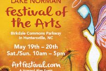 Art Festival: Lake Norman / 2nd Annual Lake Norman Festival of the Arts with Craft Marketplace, May 19th and 20th, 2018,  for dates or more information visit: http://www.artfestival.com/calendar/festival