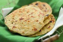 pane indiano di farina di ceci