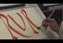 Calligraphy resources tools videos