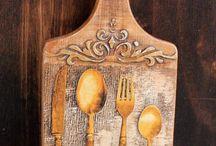 tablas de cocina decoradas