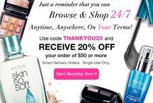 Avon Promo Code / by Avon Representative, Emily Seagren
