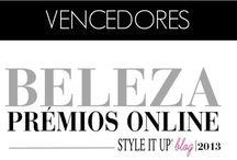 Beauty Awards / Prémios Online de Beleza Style it Up 2013