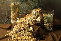 Colorado Kernels Popcorn Delights / Popcorn that is hand made using only the finest chocolates, nuts, and cheeses.