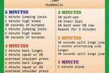 Workouts / by Carla Baggett Wright
