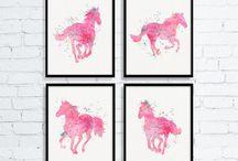 Horsey /western bedrooms