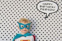 Jason's super hero bday / by Chelse Henry