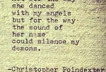 Christopher Poindexter / Poetry
