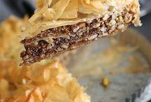 //Greek desserts//