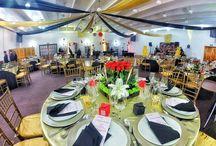 Salón imperial / Cuenta con una capacidad de hasta 250 personas. Bodas, graduaciones y XV años son los ideales para celebrar en este amplio salón!